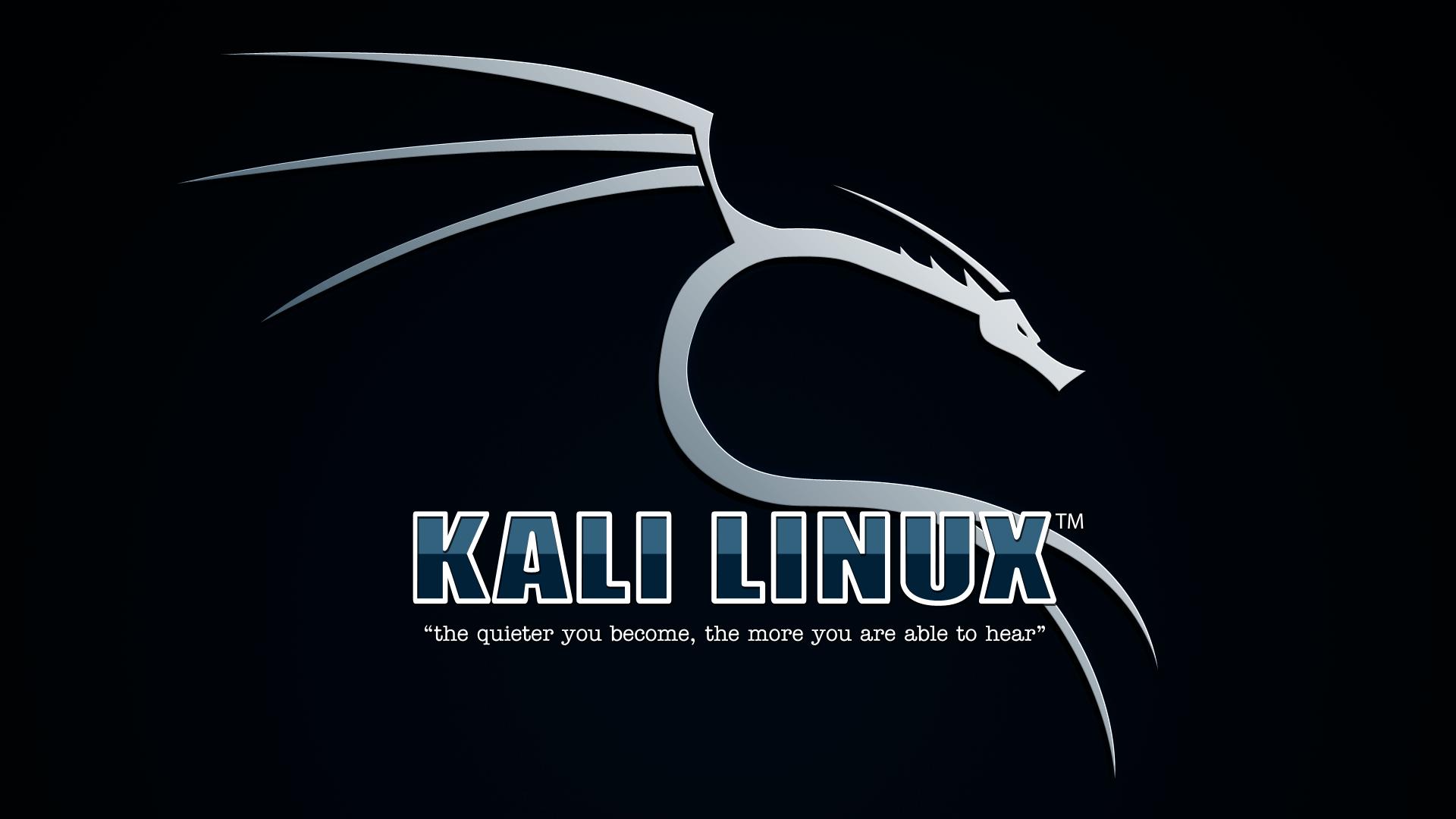 kali linux wallpaper